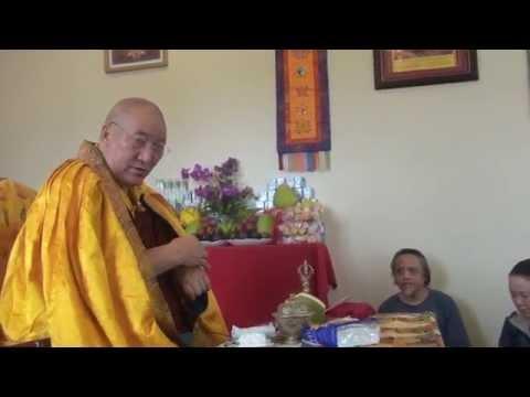 Phap vuong  Ayang rinpoche giang phap Phowa