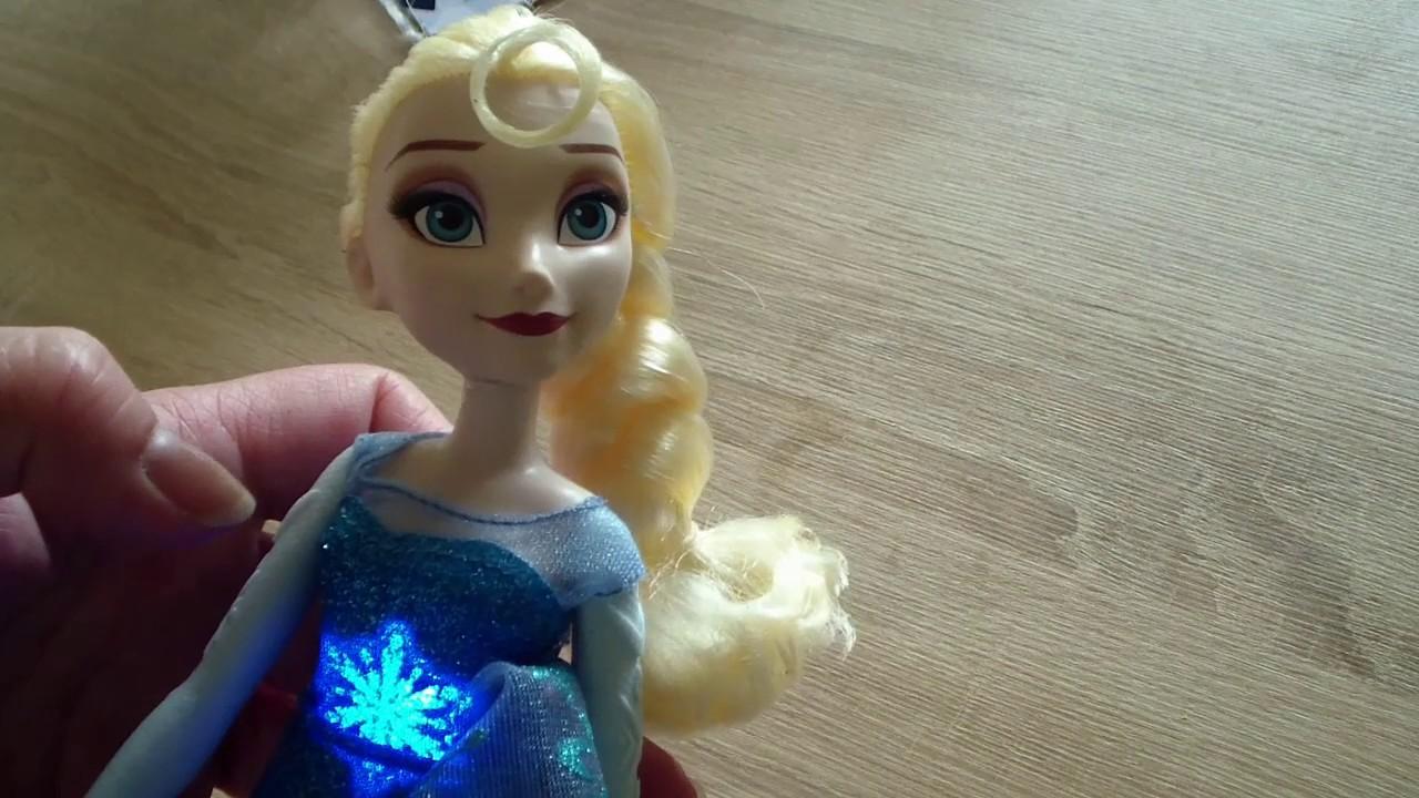 Disney Frozen Muziek En Lichtjes Elsa Zingt Laat Het Los
