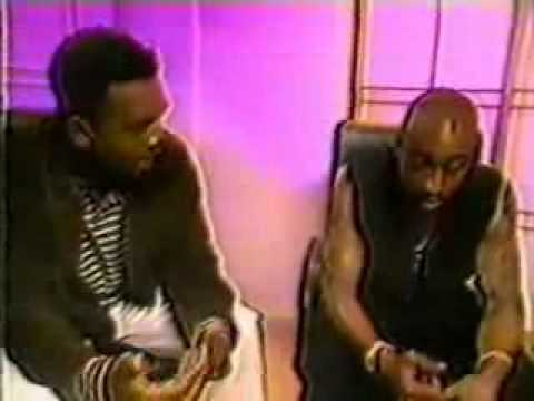 Part 1 of  Tupac  & Dr. Dre Interviewed By Bill Bellamy .1996 Interview.Very RARE interview..flv