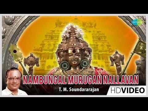 Nambungal Murugan Nallavan | Tamil Devotional Video Song | T. M. Soundararajan | Murugan Songs