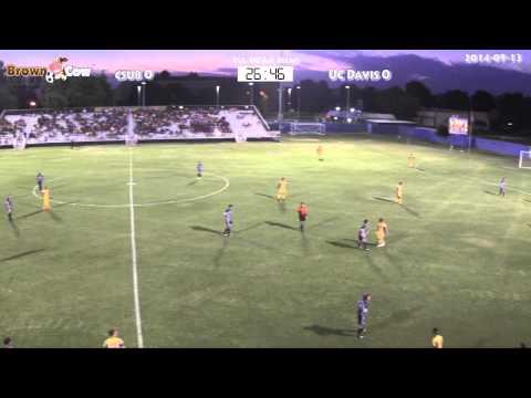 20140913 NCAA Mens Soccer   CSU Bakersfield v UC Davis 1st Half