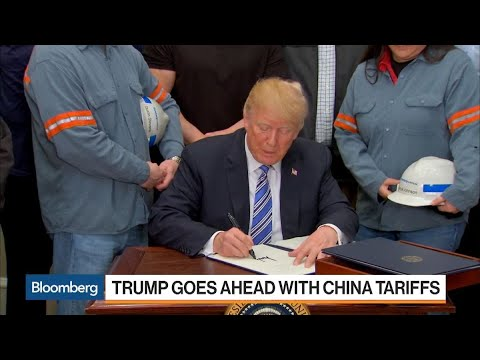 Trump Goes Ahead With China Tariffs