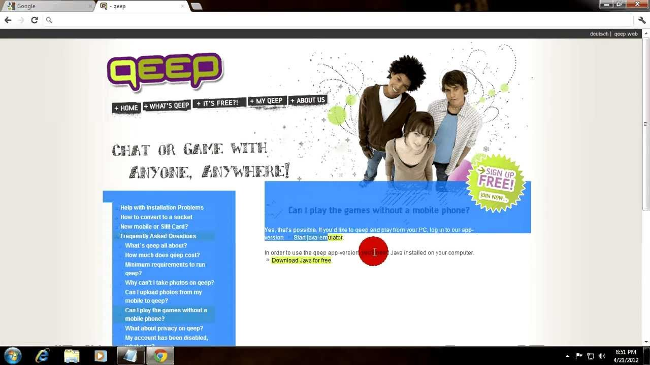 Qeep chat for pc free download