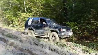 offroad drive by Opel Monterey