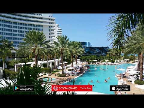 Fontainebleau Hotel – Présentation – Miami – Audioguide – MyWoWo Travel App