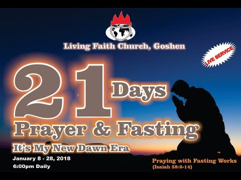 Praying with Fasting Works - Day 9  January 16, 2018