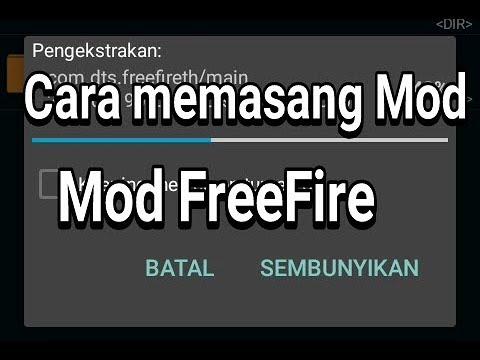 TUTORIAL Cara memasang apk mod freefire @ download game online terbaru