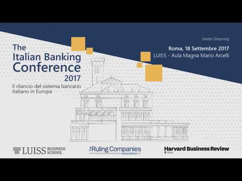 The Italian Banking Conference 2017 - Sessione 1