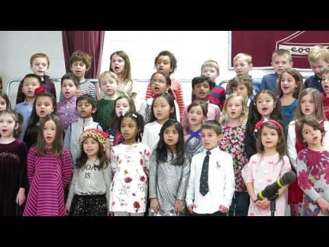 "Foote School First Graders Sing ""Great Big Stars"""