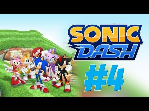 Let's Play Sonic Dash - Amy's Gameplay