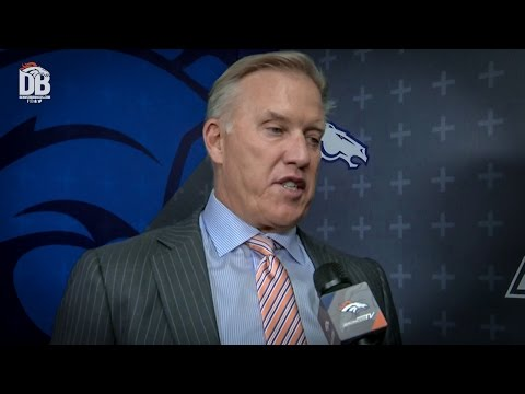 John Elway on second-round pick DeMarcus Walker