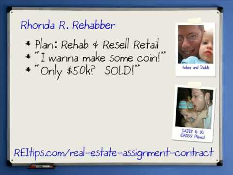 Real Estate Assignment Agreement (Pt 1 Of 2) - Youtube