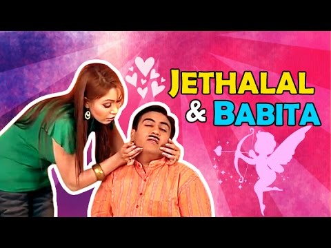 Jethalal flirting with Babita | Watch Funny Moments | Taarak Mehta Ka Ooltah Chashma