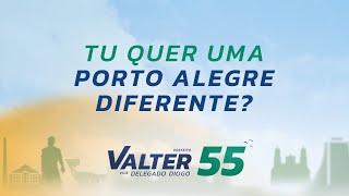 Tu quer uma Porto Alegre diferente? #v55 #Valter