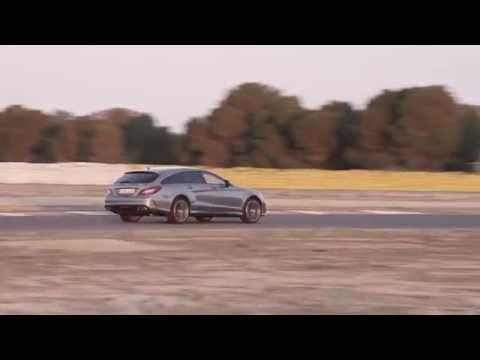 Mercedes-Benz CLS 63 AMG Driving   AutoMotoTV