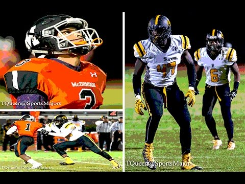 St Frances Academy vs McDonogh High School Football 2016