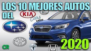 Los 10 Mejores Automóviles del 2020 *CarsLatino*