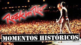 10 MOMENTOS HISTÓRICOS DO ROCK IN RIO