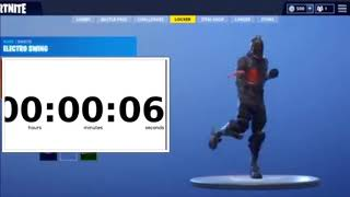 *LEAKED* Electro Swing | Best Emote Ever | 5 Minutes | Fortnite Battle Royale
