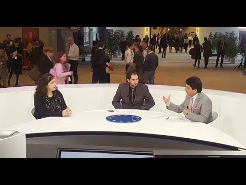 first world news television talk show at european parliament brussels