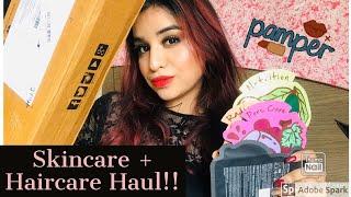 Nykaa Skincare and Haircare Haul 2019💁🏻