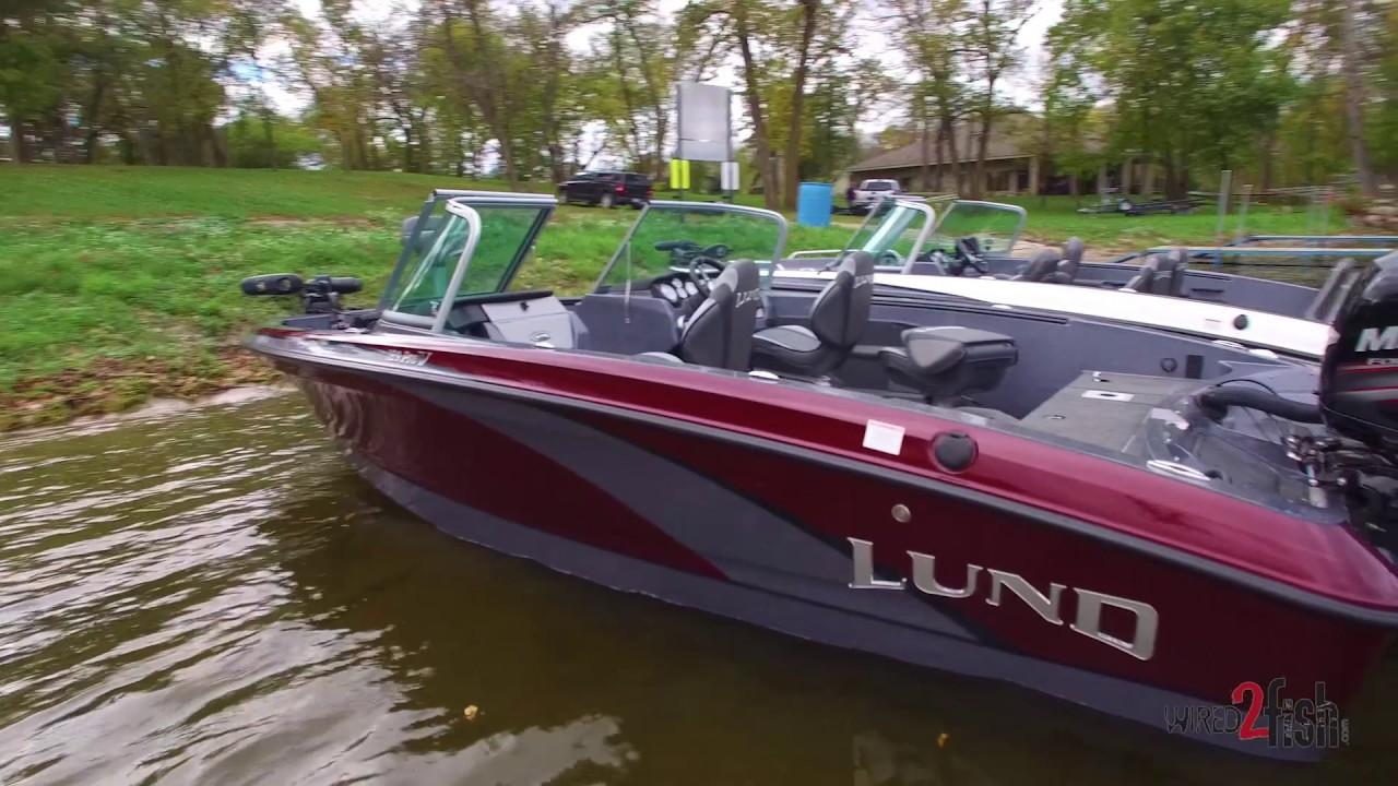 New 189 Lund Pro V Fiberglass Fishing Boat