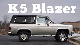 1990 Chevrolet K5 Blazer: Regular Car Reviews