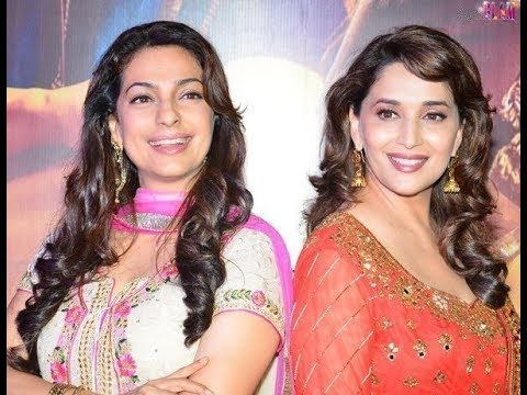 Madhuri Dixit & Juhi Chawla Spat : What happened when they met face 2 face at Gulab Gang set !