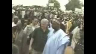 Former US President Bill Clinton Visits Nasarawa State, Nigeria - April 2001