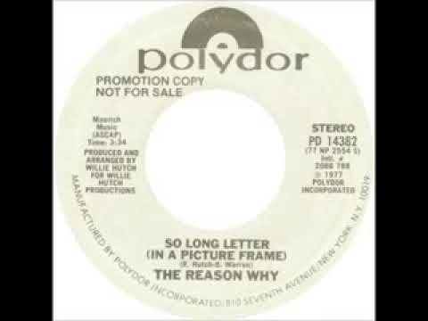 The reason why so long letter (in a picture frame)