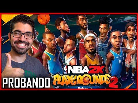 NBA 2K PLAYGROUNDS 2 - PROBANDO EN EXCLUSIVA EL JUEGO - AIRCRISS