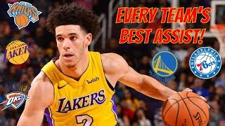 Every Team's Best Assist! (2018-2019)
