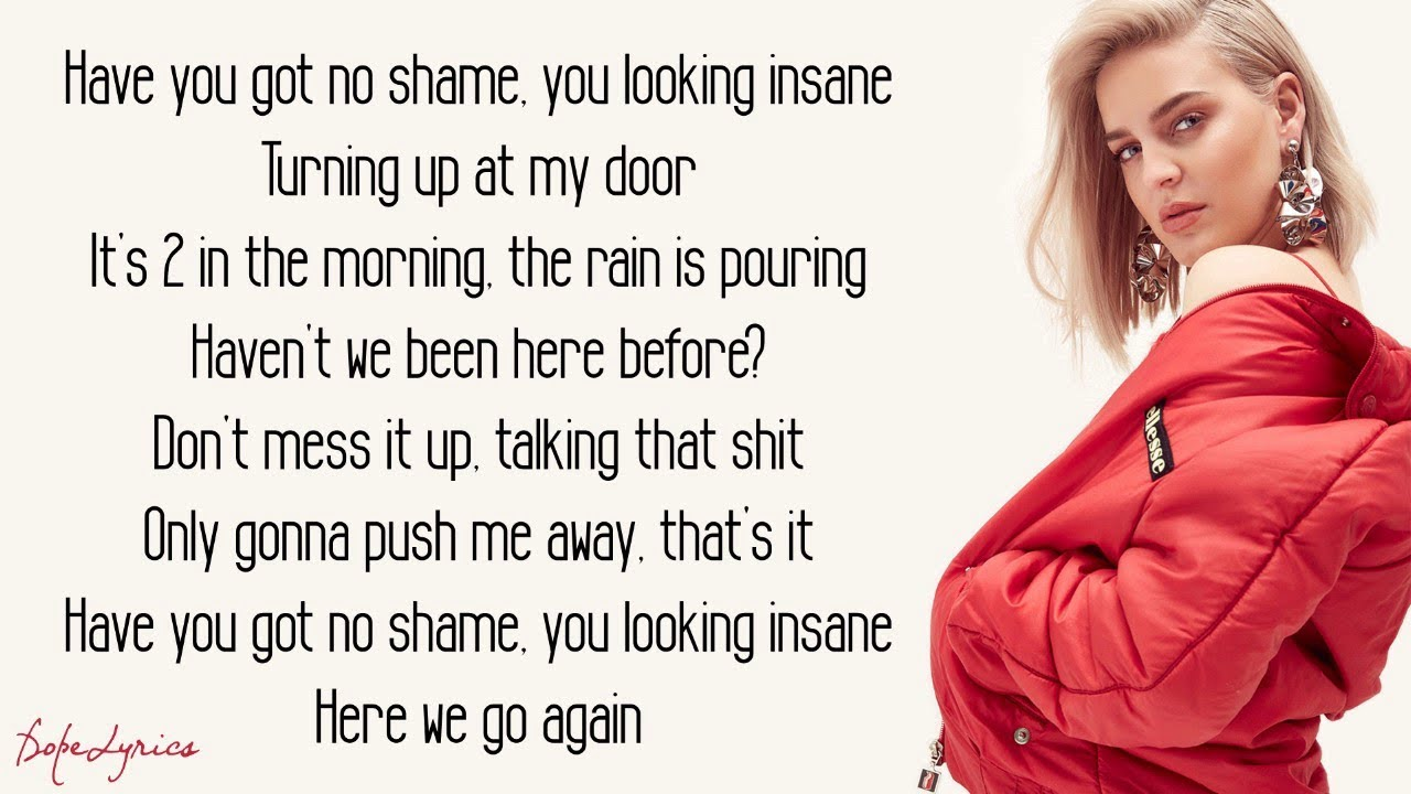 Friends Marshmello Anne Marie Lyrics Youtube