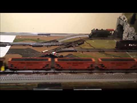 Updated 11×4 O Gauge Layout Test Run