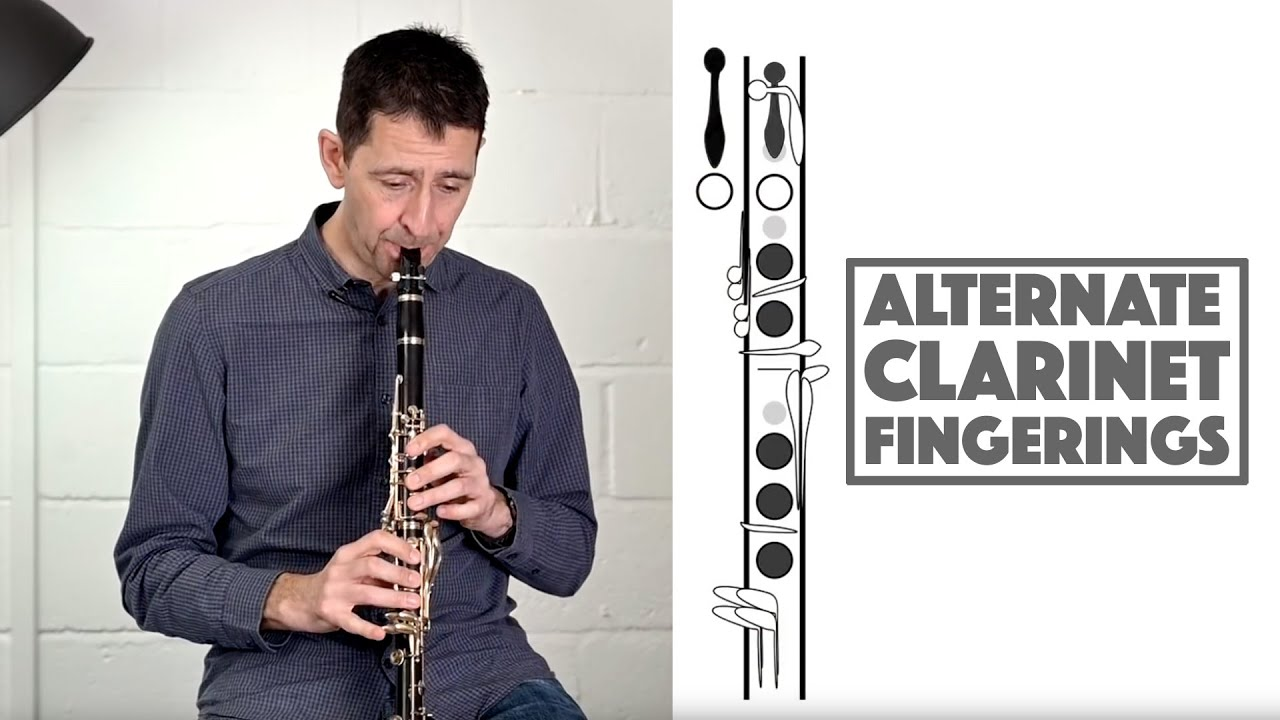 clarinet fingerings with playing and diagram examples throat bb top g and more  [ 1280 x 720 Pixel ]