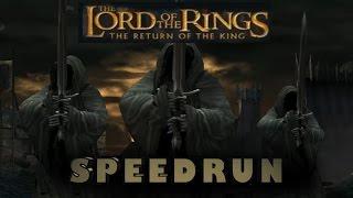 Lotr: The Return of the King Speedrun 1P Easy PC (1:37:00)
