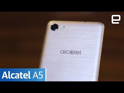 Alcatel A5 | Hands-On | MWC 2017