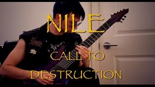 NILE - Call To Destruction COVER / Aristides 080S