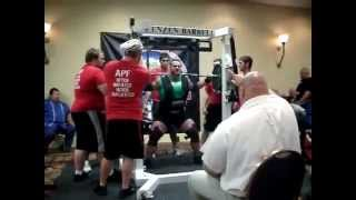 Weightlifter tries to squat ending projectile vomits all over judge and passes out