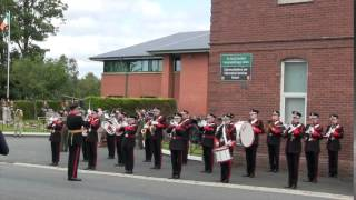 Irish national anthem performed by the Irish Army