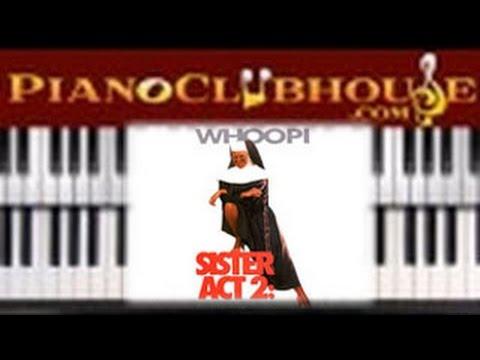 🎹   JOYFUL JOYFUL -Sister Act 2 ft. Lauryn Hill/Whoopi Goldberg (easy piano lesson tutorial)