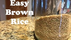 Quick Cook Brown Rice Healthy EASY WAY Fluffy Brown Rice From Stratch