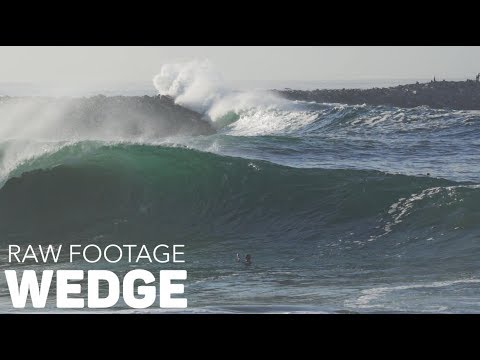 Pro Bodyboarders SCORE HUGE Wedge - RAW FOOTAGE