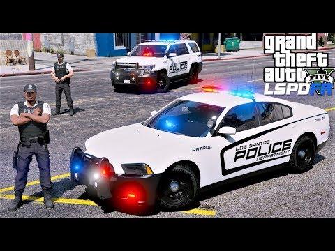 GTA 5 LSPDFR #659 New Los Santos Police Department Fleet