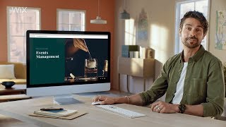 Wix.com | جيمس يخلق له موقع على شبكة الانترنت المهنية