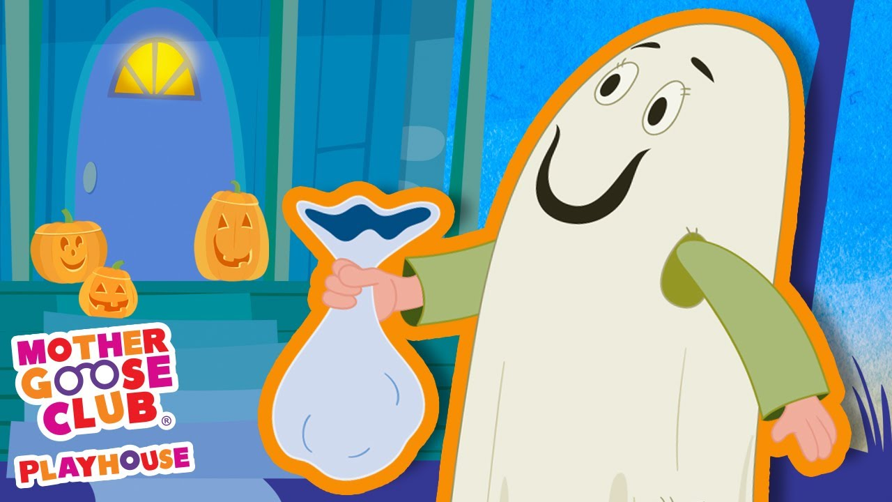 Ghost Family + More | Mother Goose Club Cartoons