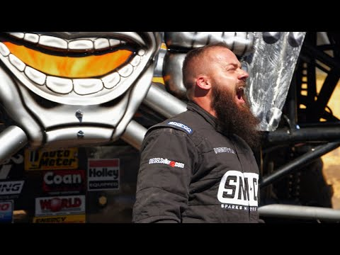 Watch Heavy D Get Some Serious Air In The Monster Truck Max D | Diesel Brothers