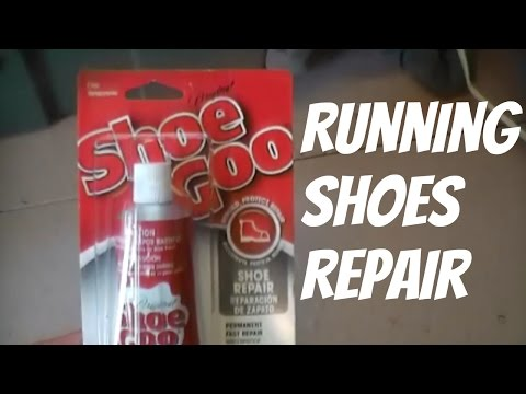 Repair Tip Of Athletic Shoes