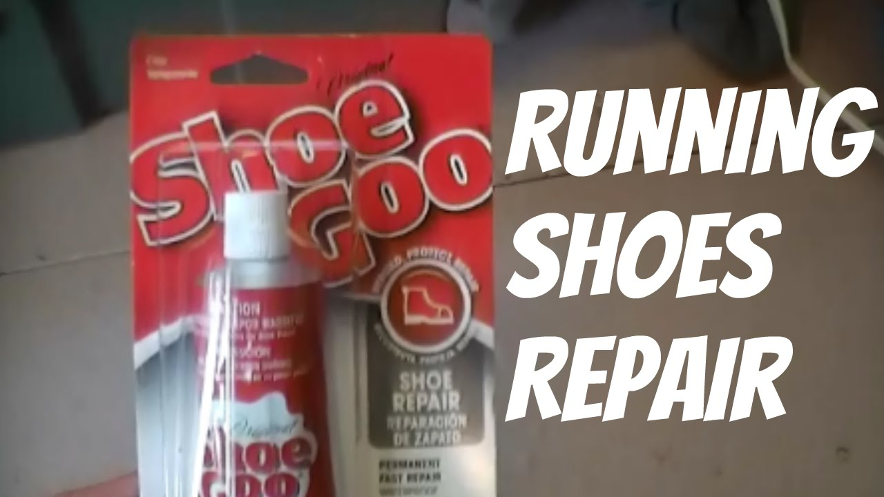Running Repair Shoe Goo Youtube With ID9HYWeE2