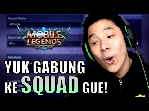 BIKIN SQUAD UTK MABAR SUBSCRIBERS! YUK JOIN! • Mobile Legends Indonesia (60 fps)